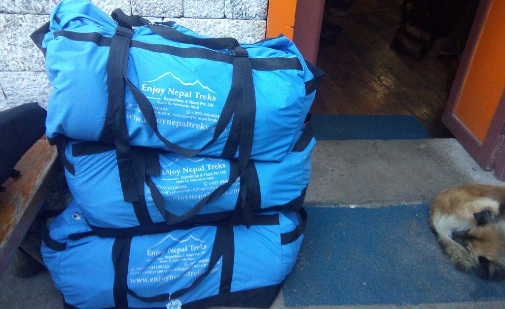Nepal porter bag