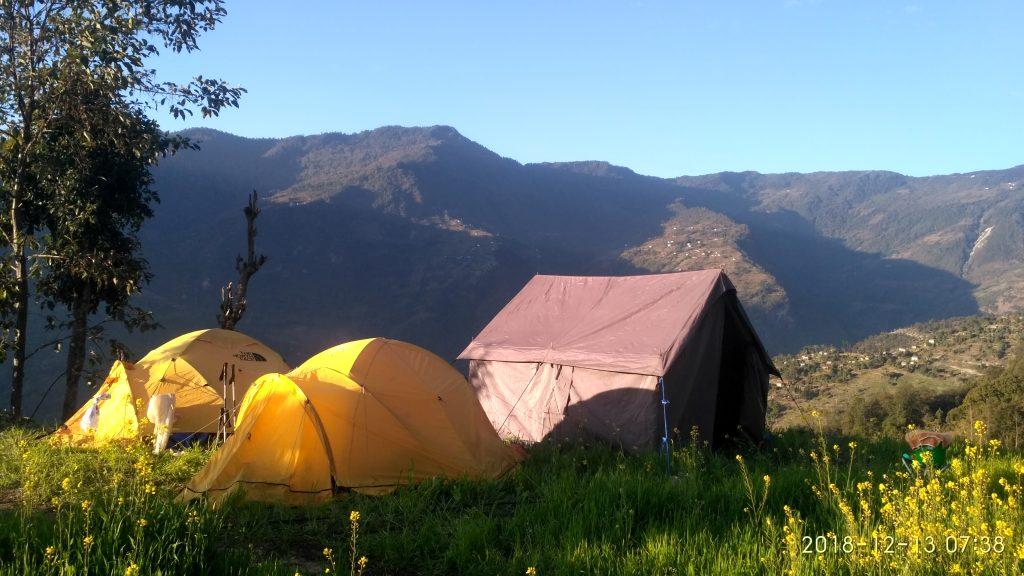 Camping trek
