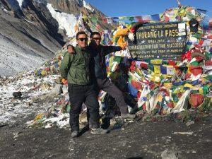 Annapunra Thorong pass