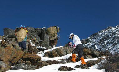 Rupinala pass Tsum valley Trek with Manaslu larkey pass