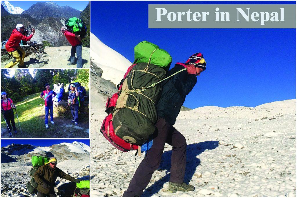 Porter in nepal