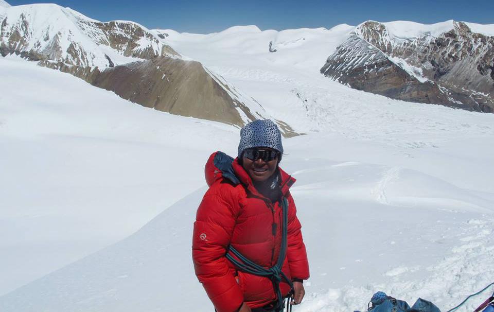 Peak climber